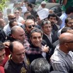 Liberado el showman egipcio crítico con Morsi