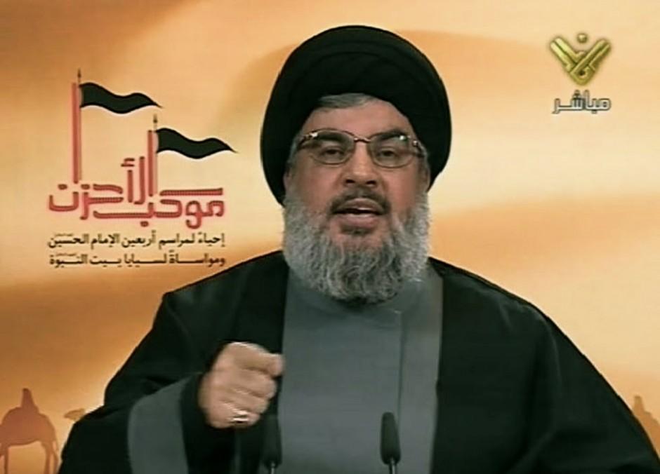 Hasán Nasrala, líder de Hezbolá.