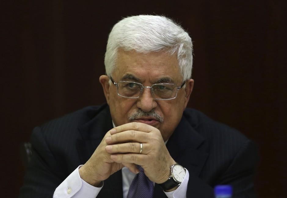 El presidente de la Autoridad Nacional Palestina, Mahmud Abás.