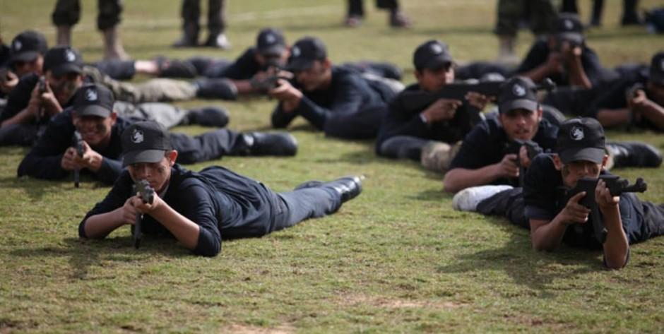 Campamento de Hamás.