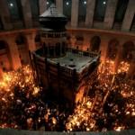 Luz Sagrada en Jerusalén