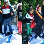 """Por Asad y Hezbolá y contra Israel, """"el Estado canalla"""", en el corazón de Europa"""