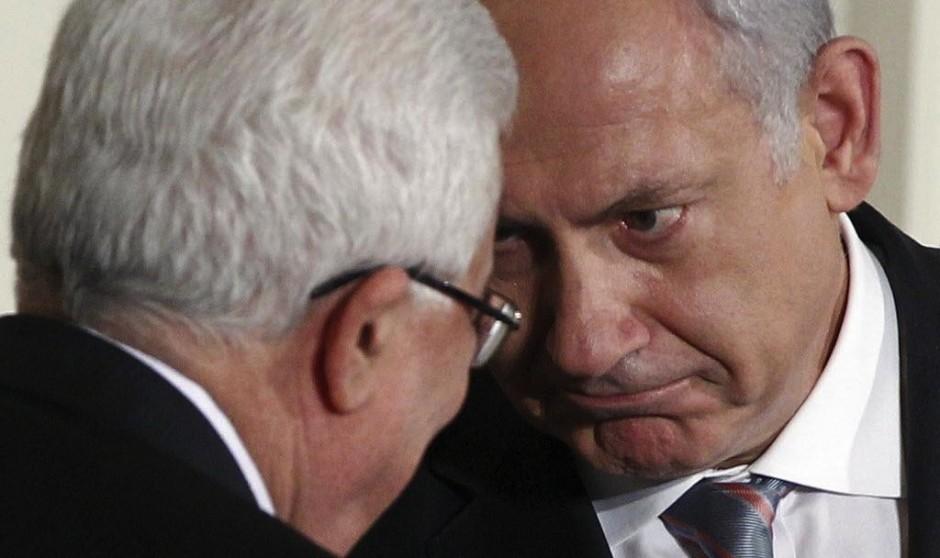 Benjamín Netanyahu y Mahmud Abás.