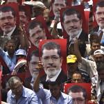 Partidarios de Mohamed Morsi.