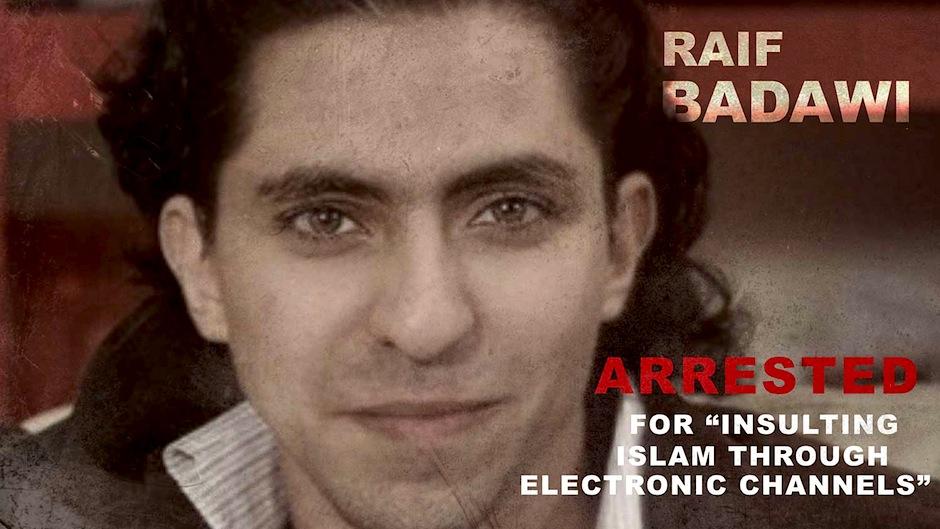 Raif Badawi.
