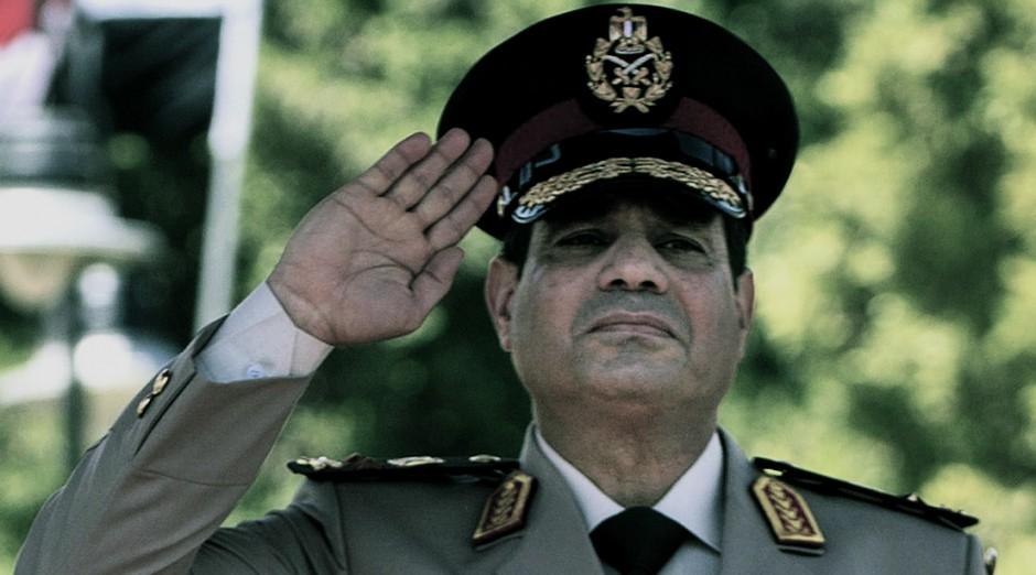El general Sisi, presidente de Egipto.