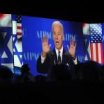 Joe Biden, en la conferencia de AIPAC de 2013.