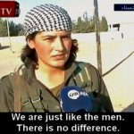 Kurdas contra el ISIS: mujeres en el campo de batalla