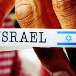 Pulsera de apoyo a Israel.