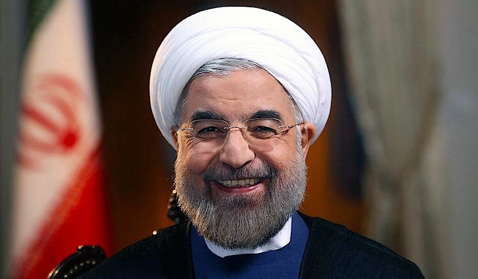 Hasán Ruhaní, presidente de Irán.