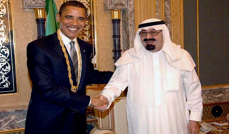 Barack Obama y Abdalá.