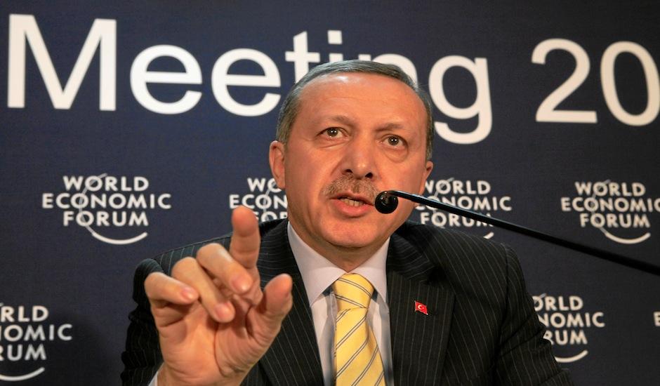 El presidente de Tuquía Erdogan