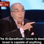 El antisemita Qaradawi, 'poseído' por Israel