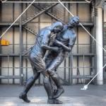 Zidane ya tiene estatua en Qatar. Y Materazzi…