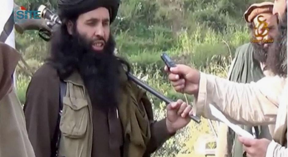 Fazlulá, líder de los talibanes de Pakistán.