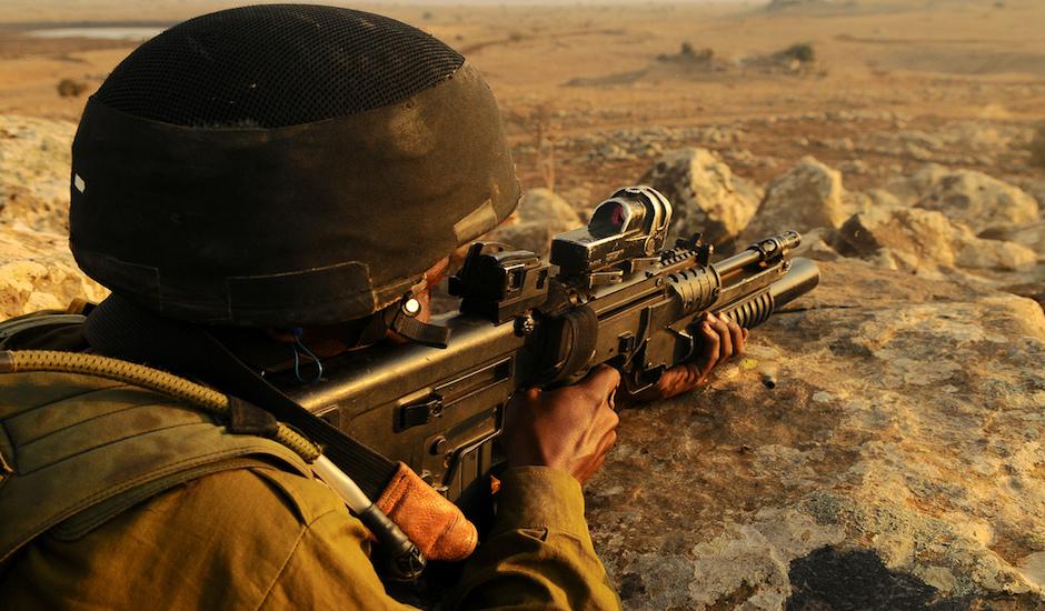 Las FDI, listas para la guerra