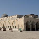 Mezquita de Al Aqsa en el Monte del Templo