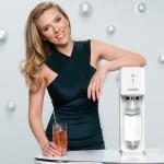 Scarlett Johansson, en un anuncio de SodaStream.