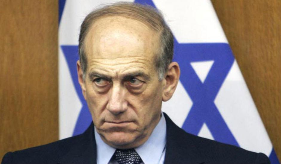 Ehud Olmert, ex primer ministro de Israel.