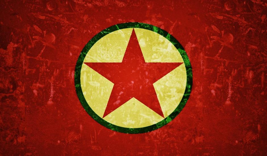 Bandera del PKK.