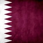Bandera de Qatar.