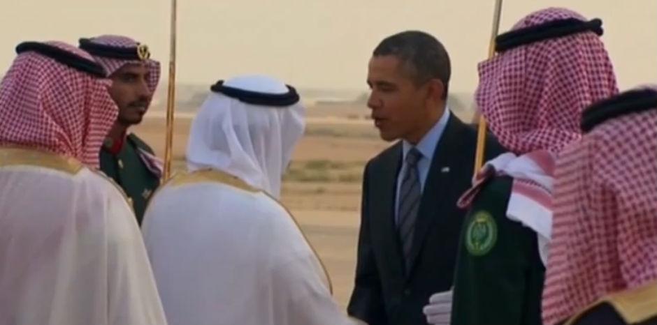 Barack Obama en Riad.