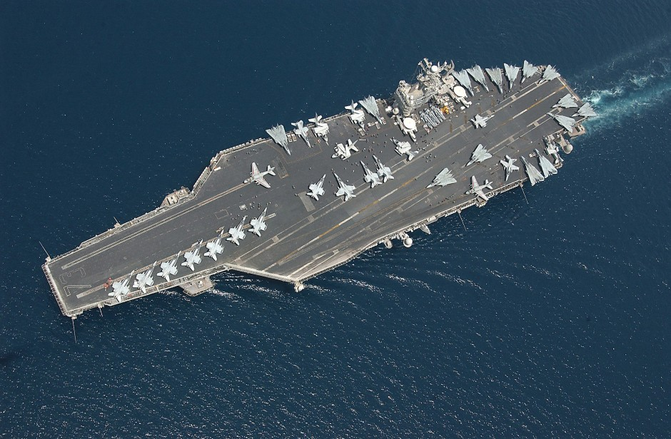 Portaaviones USS George Washington.