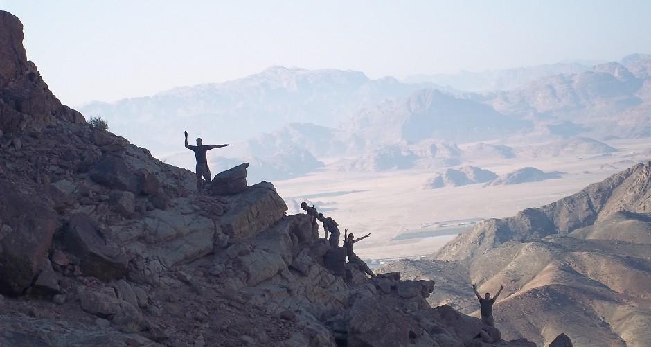 Jordania, montañas, ejército.