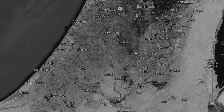 mapa-gaza-sur-israel
