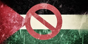 Bandera de Palestina.