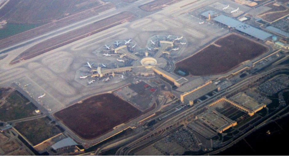 Aeropuerto Internacional Ben Gurión (Tel Aviv, Israel).