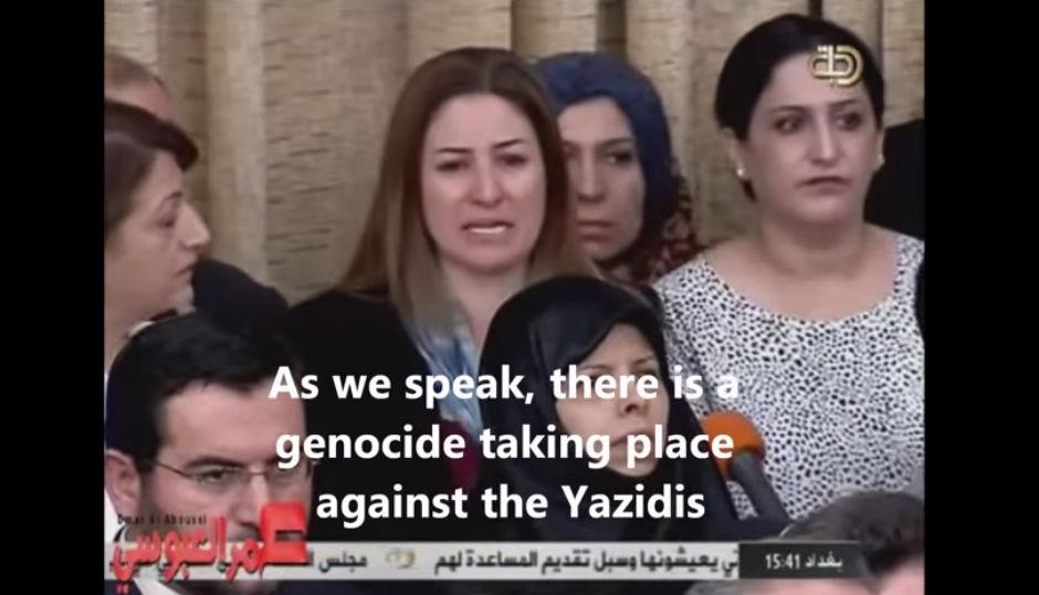 Exterminio yazidíes