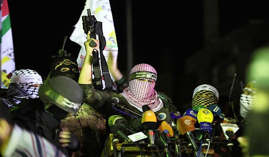 Terroristas de Hamás.