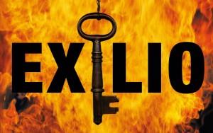 Detalle de la portada de 'Exilio', de Richard North Patterson.