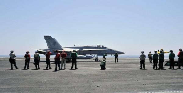 Ataque aéreo contra el Estado Islámico