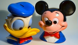 Mickey Mouse y el Pato Donald