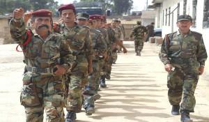 Batallón iraquí de la peshmerga, entrenado por fuerzas estadounidenses en Mosul