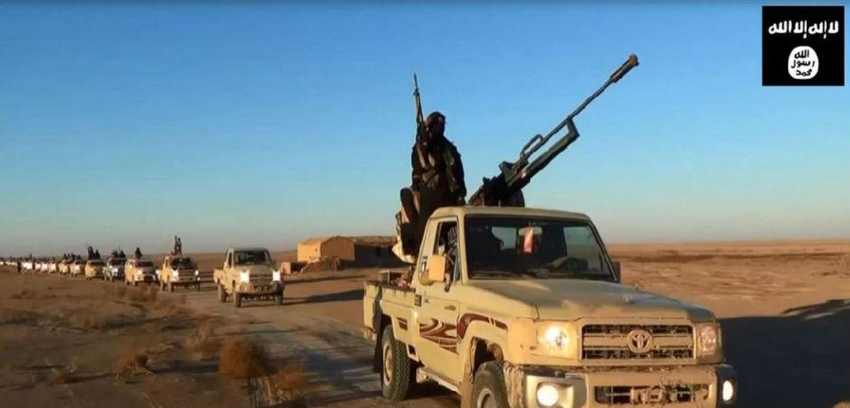 Convoy del Estado Islámico.