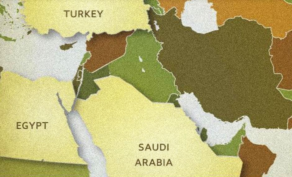 Egipto, Turquía y Arabia Saudí, la 'vanguardia suní'.