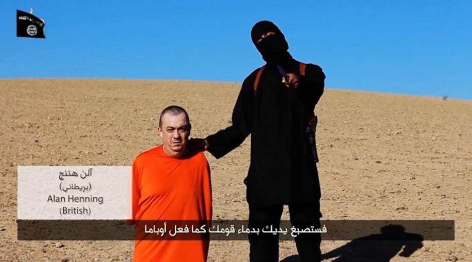 Alan Henning, asesinado por el Estado Islámico.