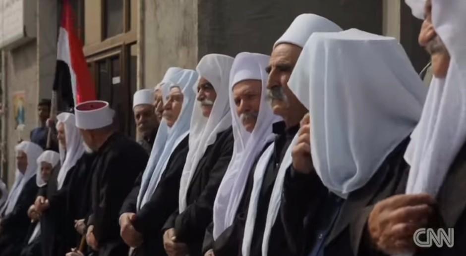 Drusos sirios.