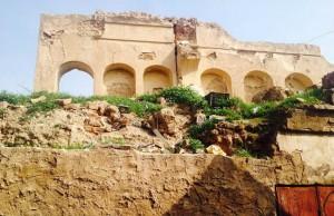 La Iglesia Verde de Tikrit, destruida por el Estado Islámico.