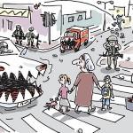 La 'intifada de los coches' y el proceso de paz de Obama