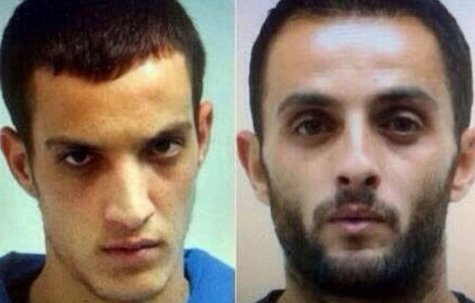 Uday y Rasán Abu Jamal, autores de la matanza de la sinagoga Kehilat Yaakov de Jerusalén.