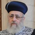 """Israel: el gran rabino sefardí clama contra el """"genocidio"""" en Siria"""