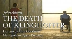Cartel de la ópera 'La muerte de Klinghoffer'.
