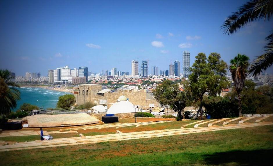 Panorámica de Tel Aviv.