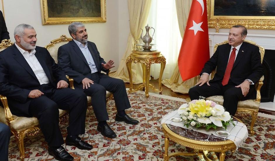 Erdogan recibe en Turquía a dirigentes de Hamás
