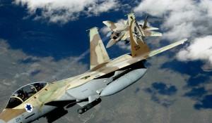 Dos F 15 de las Fuerzas Aéreas de Israel