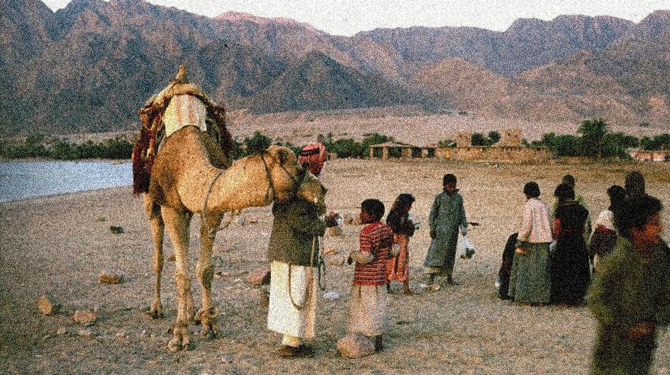 Beduinos del Sinaí.